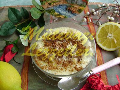 Limonlu Puding (fotoğraf)