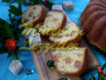 Sakızlı Lokumlu Kek (fotoğraf)
