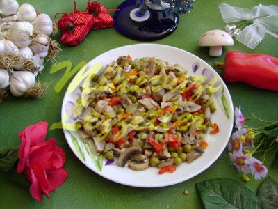 Mantar Salatası (fotoğraf)