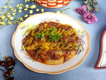 Mərciməkli Kartof