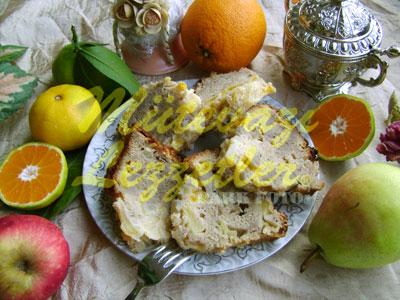 Meyveli Kış Keki (fotoğraf)