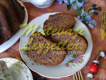 Dark Cake With Corn Flour