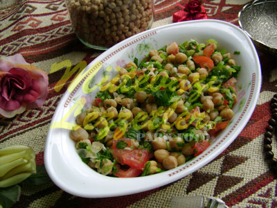 Salade aux Pois Chiches
