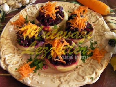 Pancarlı Enginar Salatası (fotoğraf)