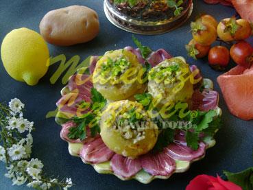 Gefüllte Kartoffel