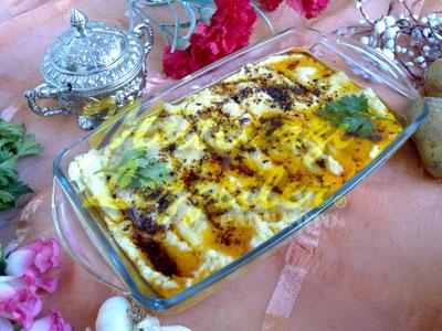 Patates Humusu (fotoğraf)