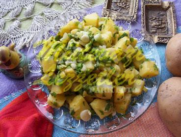 Patates Salatası (fotoğraf)