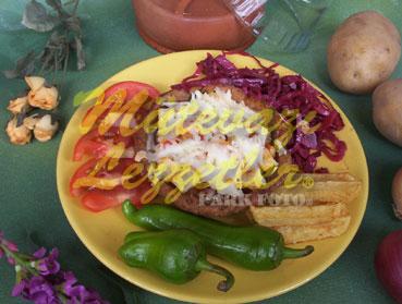 Patatesli Çanak Köfte (fotoğraf)