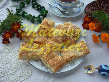 Borek with Potato Filling For Tea Time
