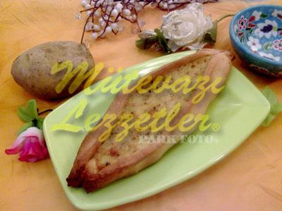 Patatesli Pide (fotoğraf)