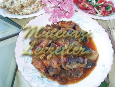 Patlıcan Musakkası (fotoğraf)