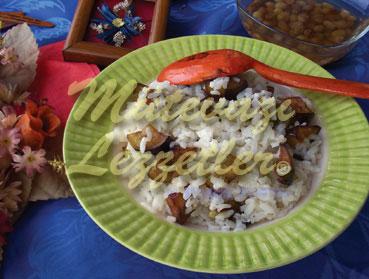 Patlıcanlı Pilav (fotoğraf)