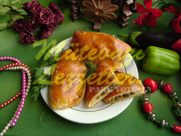 Patlıcanlı Poğaça (fotoğraf)