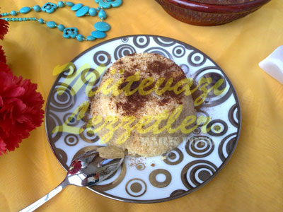 Peynirli İrmik Helvası (fotoğraf)