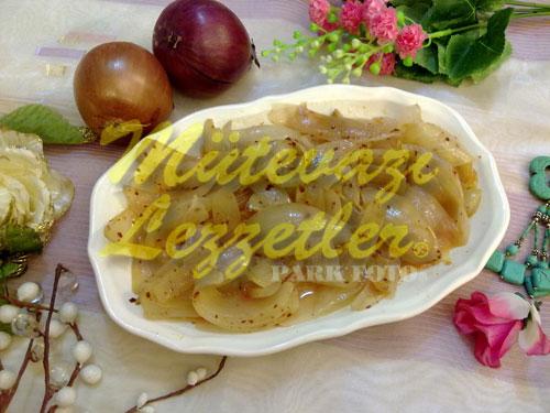 Pişmiş Soğan Garnitürü (fotoğraf)