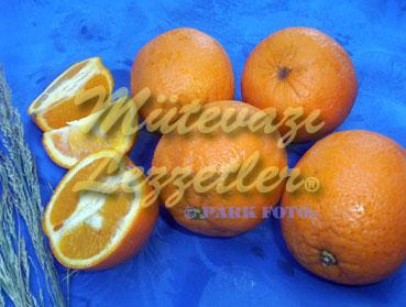 Pastel con orange