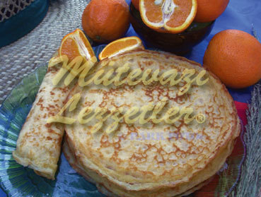 Crepe with Orange