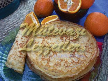 Portakallı Krep (fotoğraf)