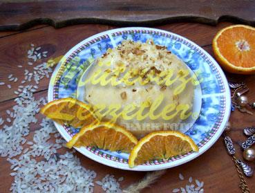 Portakallı Sütlaç (fotoğraf)