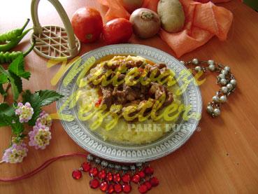 Kebab Tasse A la Purée