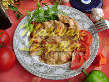 Sarımsaklı Tavuk (fotoğraf)