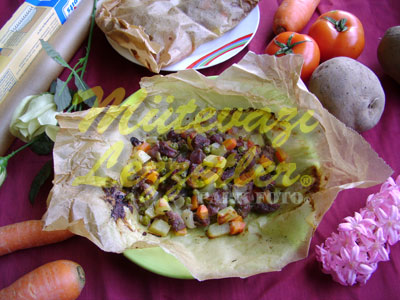 Sebzeli Kağıt Kebabı