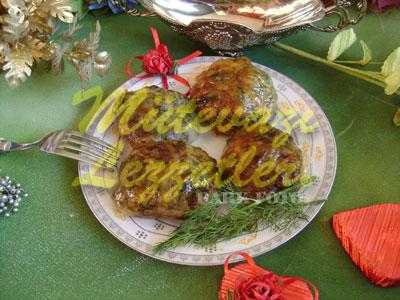 Şeftali Kebabı (fotoğraf)