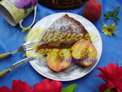 Şeftalili Kek (fotoğraf)