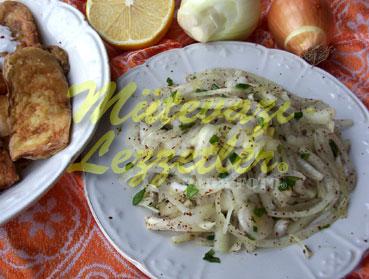 Soğan Salatası (fotoğraf)