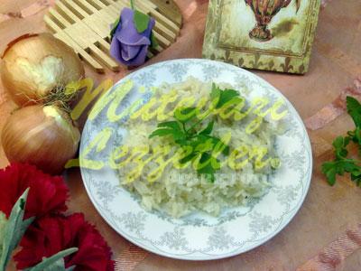Soğanlı Pilav (fotoğraf)