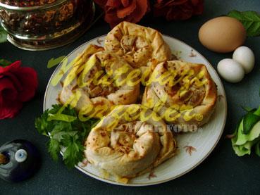 Rosa Borek con Chorizo de llenado