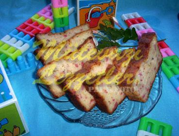 Kuchen mit Würstchen