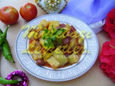 Sosisli Patates (fotoğraf)