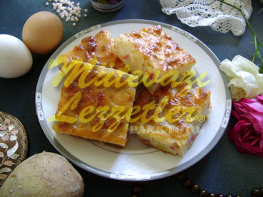 Sosisli Patates Böreği (fotoğraf)