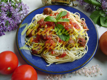 Spagetti Polpette (fotoğraf)