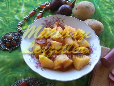 Sucuklu Patates (fotoğraf)