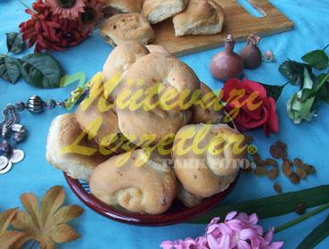 Tahinli Bahçe Çöreği