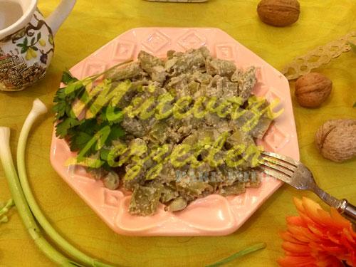 Taratorlu Bakla Salatası (fotoğraf)
