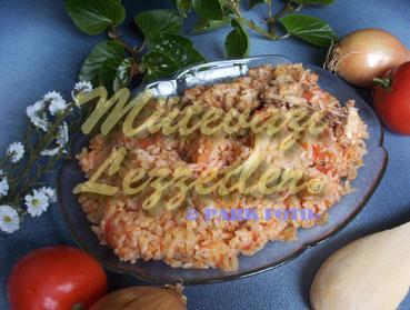 Tavuklu Kır Pilavı (fotoğraf)