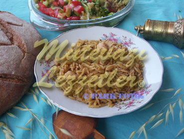 Orzo Pilaf with Chicken
