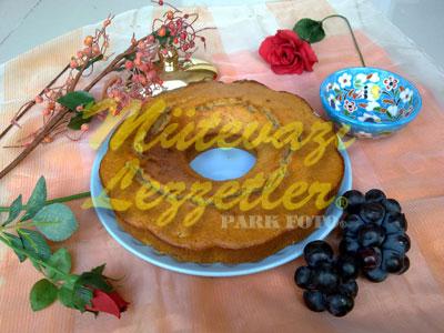 Taze Üzümlü Kek (fotoğraf)