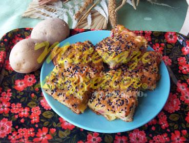 Tepside Patatesli Çörek (fotoğraf)