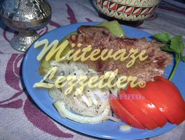 Terbiyeli Biftek (fotoğraf)