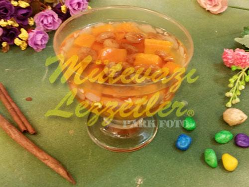 Üzümlü Balkabağı Kompostosu (fotoğraf)