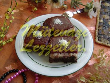 Kakaolu Vişneli İrmik Tatlısı (fotoğraf)