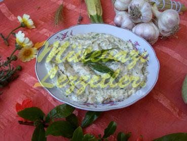 Yoğurtlu Kabak Salatası (fotoğraf)