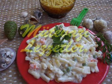 Салат из Макарон с Йогуртом