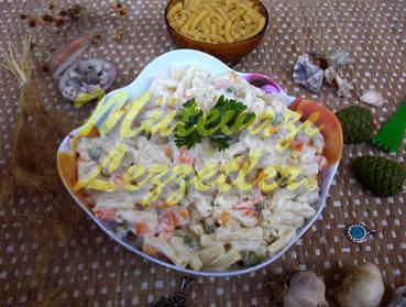 Yoğurtlu Makarna Salatası (fotoğraf)