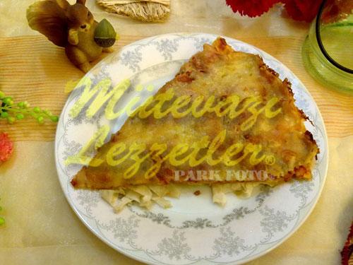 Yufka Pizzası (fotoğraf)