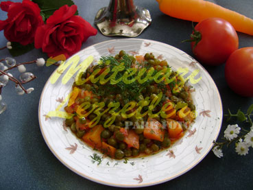 Olive Oil Peas